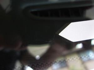 メルセデスベンツAクラスフロントガラスの修理