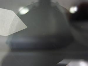 パジェロイオフロントガラス補修