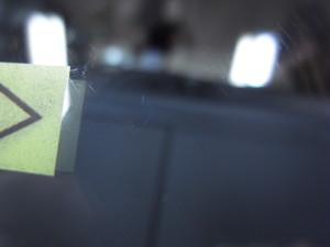 ホンダステップワゴン フロントガラス修理
