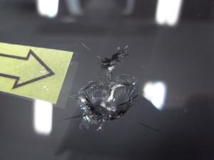 フォルクスワーゲンアップ フロントガラス修理