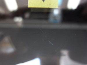 トヨタレジアスエース フロントガラス修理