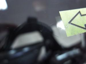 ホンダストリーム フロントガラス修理