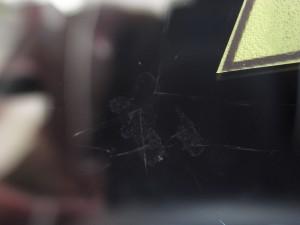 スズキハスラー フロントガラス補修