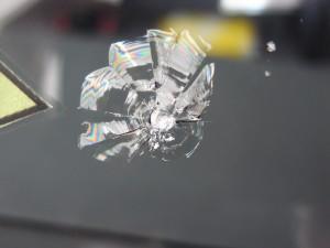 ダイハツアトレーワゴン フロントガラス補修