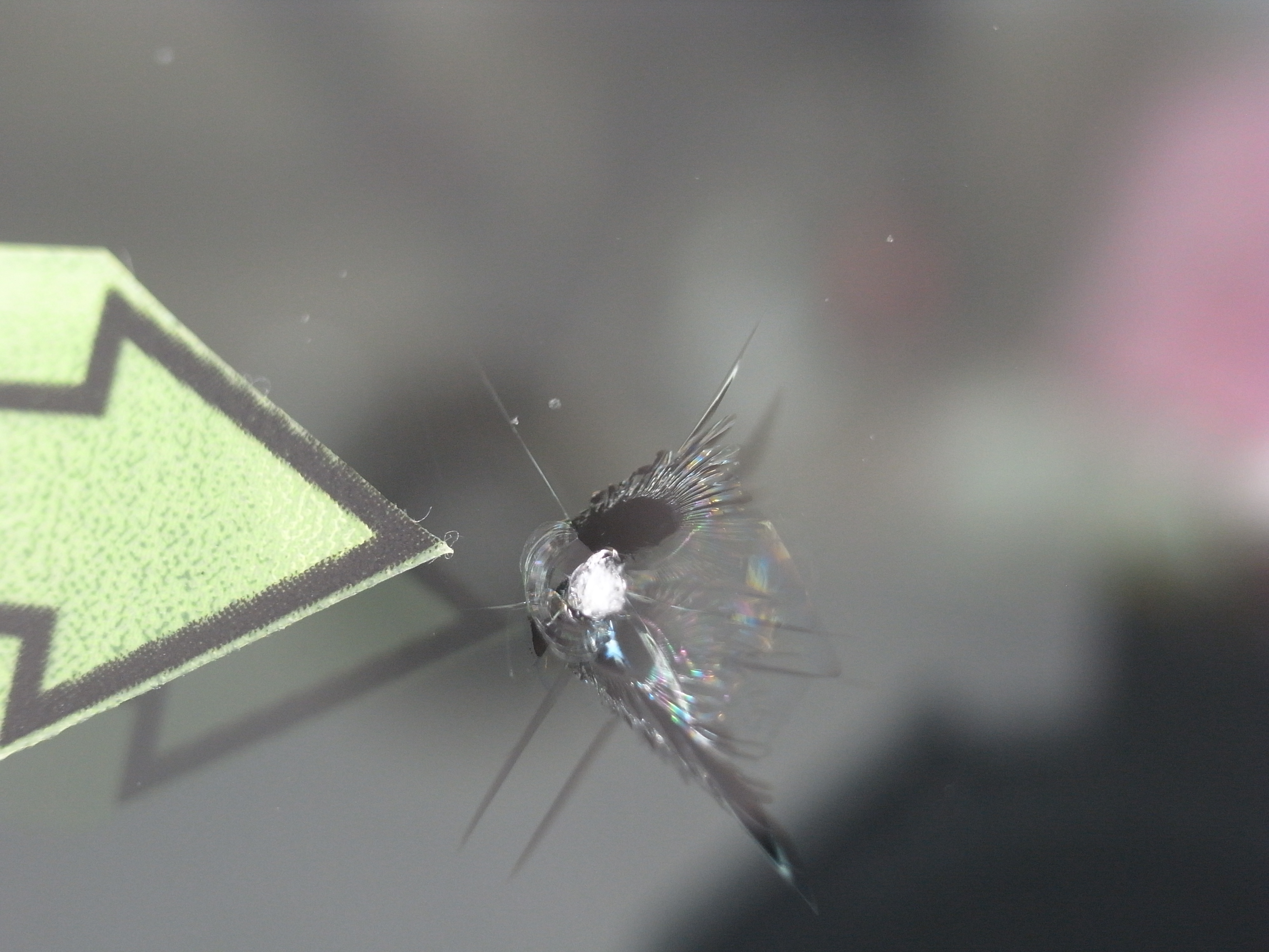 ランドローバー フロントガラス修理