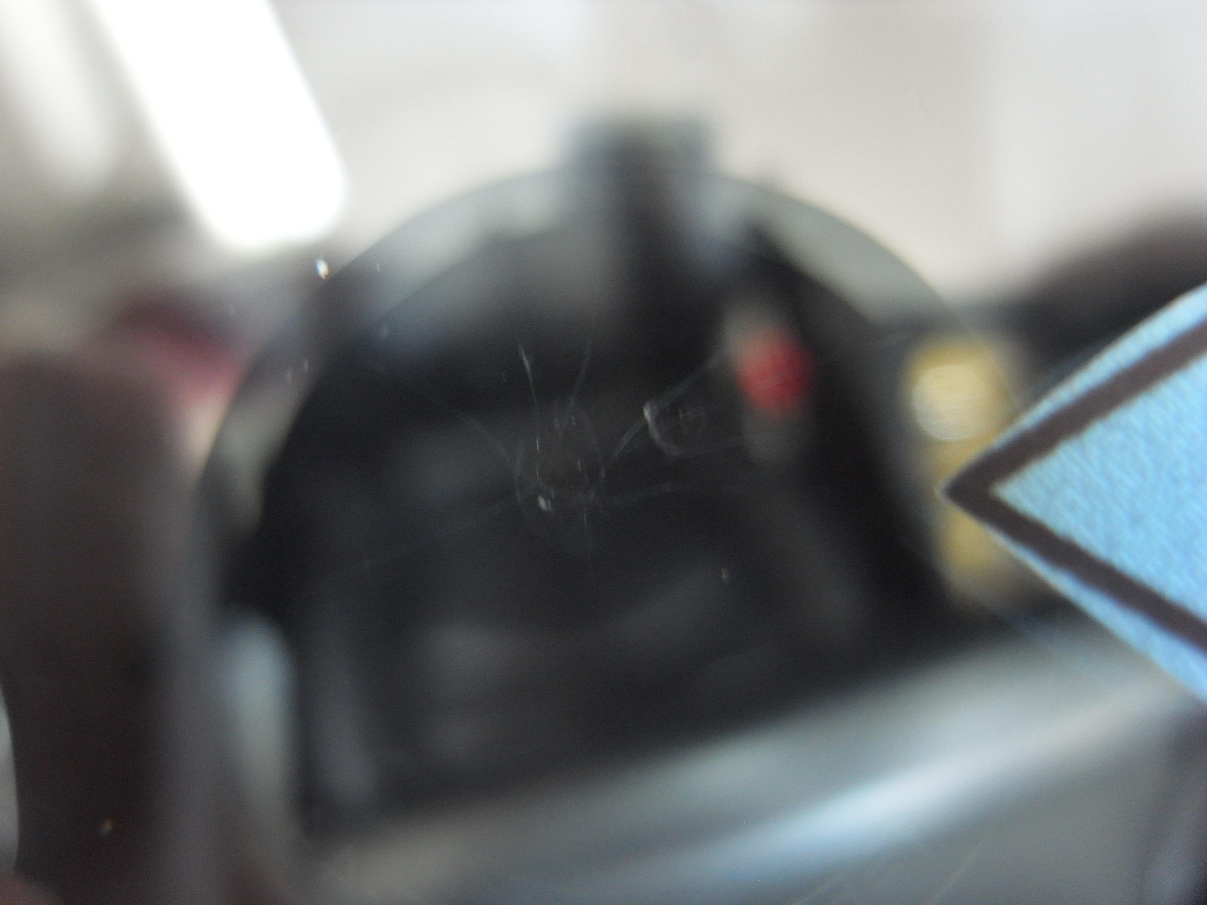 メルセデスベンツE320 フロントガラスリペア