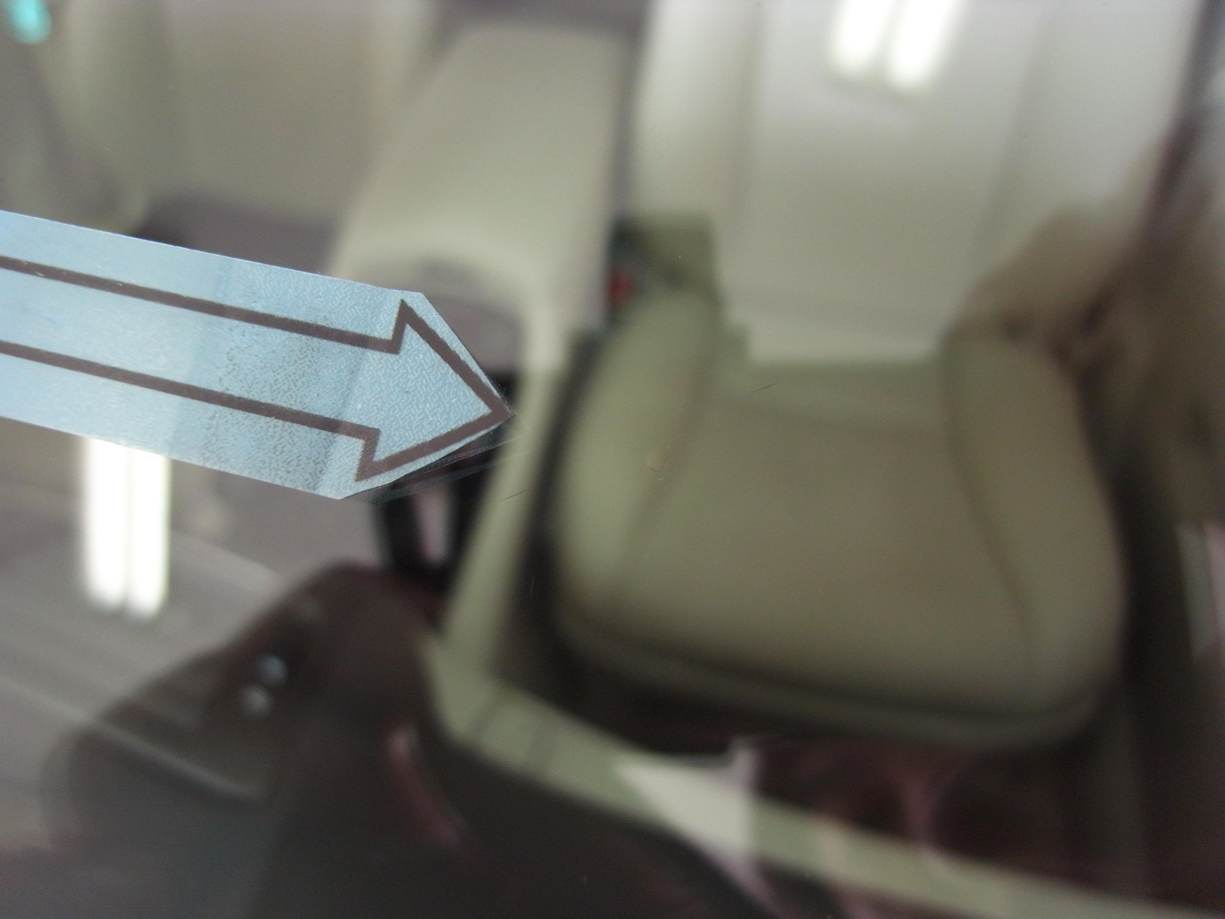 レクサスLS460 フロントガラスリペア