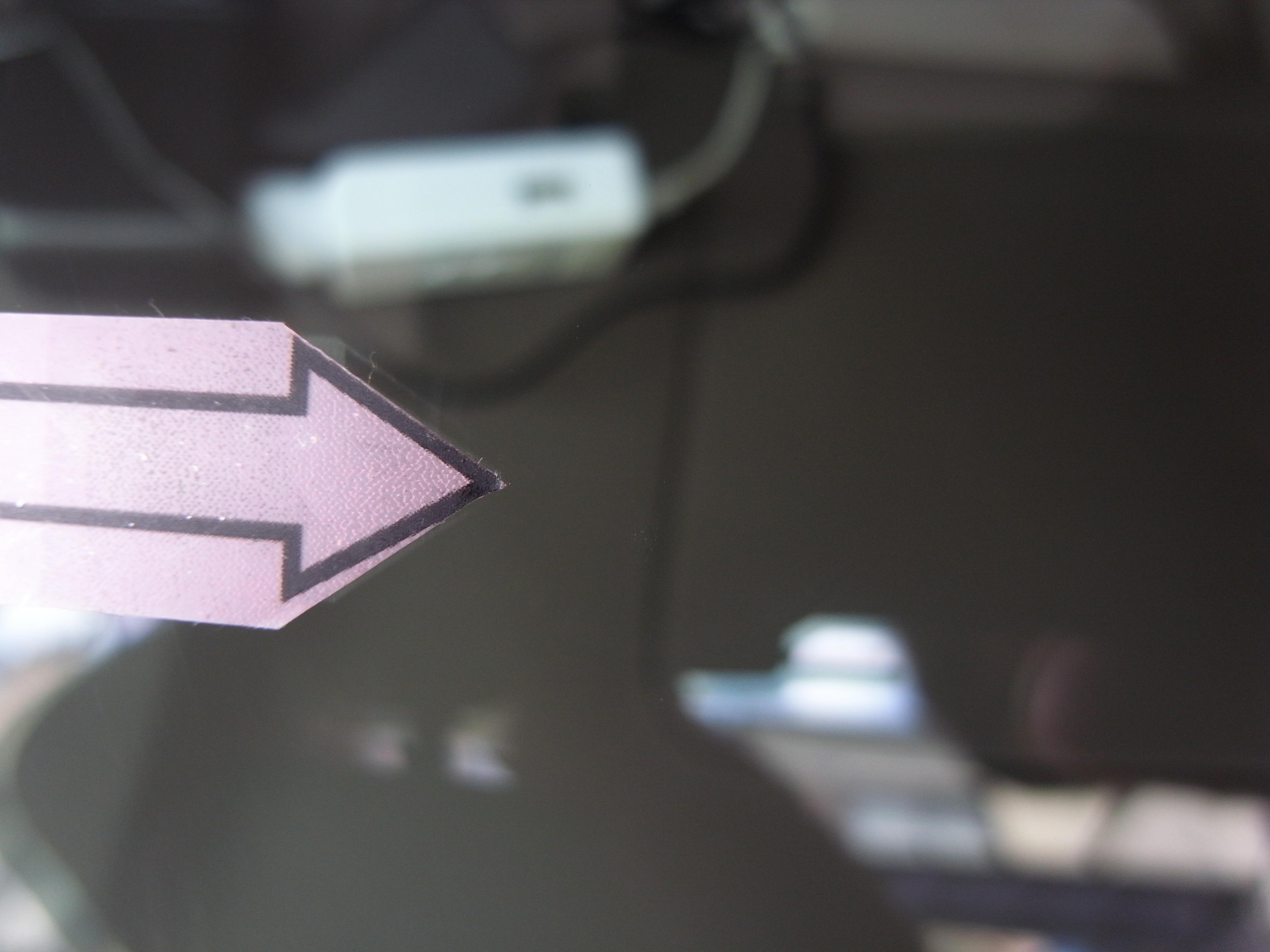 トヨタイプサム フロントガラスリペア