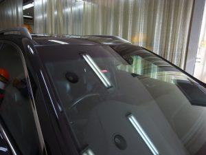 ホンダアコードワゴン フロントガラス修理