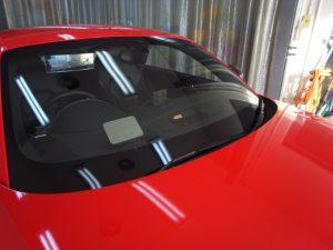 アウディTT フロントガラス修理