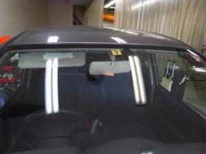スズキMRワゴン フロントガラス修理