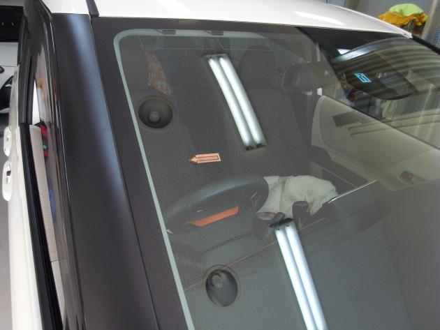 トヨタシエンタ フロントガラス修理