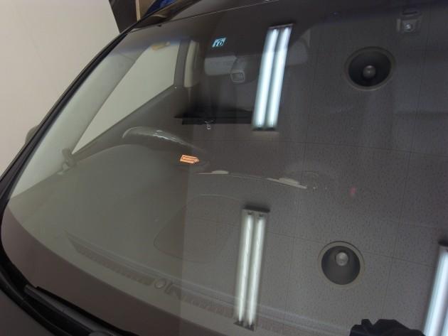 レクサスLS600h フロントガラス修理