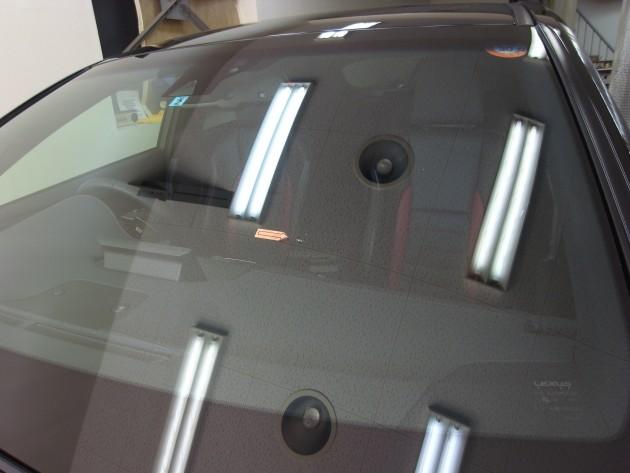 レクサスNX300h フロントガラス修理