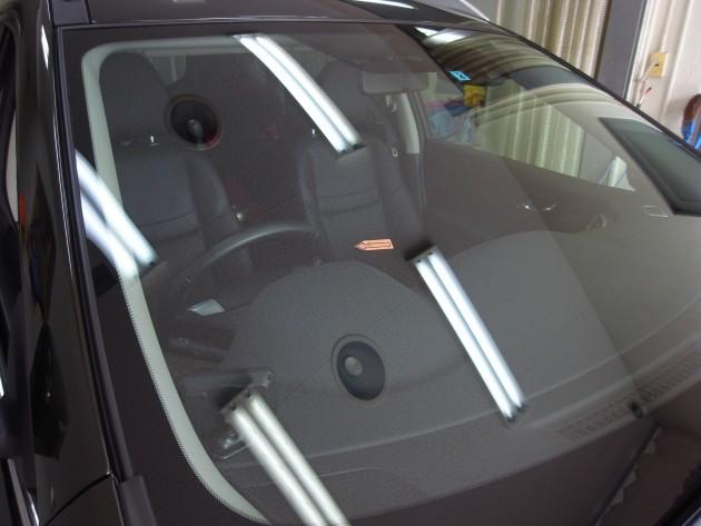 日産Xトレイル フロントガラスリペア