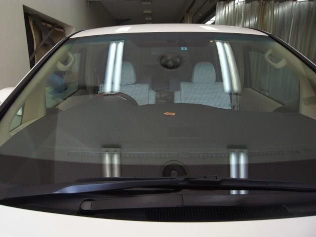 トヨタアルファード フロントガラス修理
