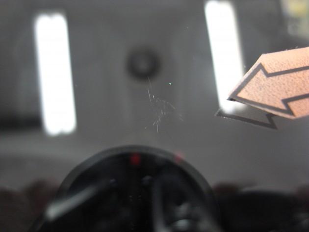 車 フロントガラスリペア