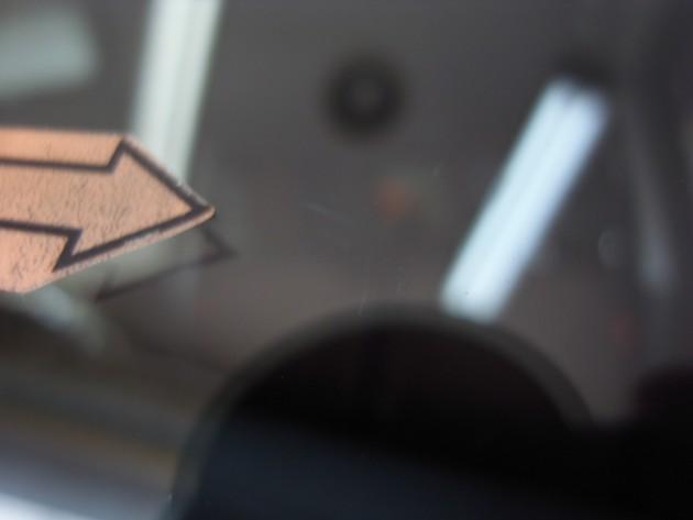 自働車 フロントガラスリペア