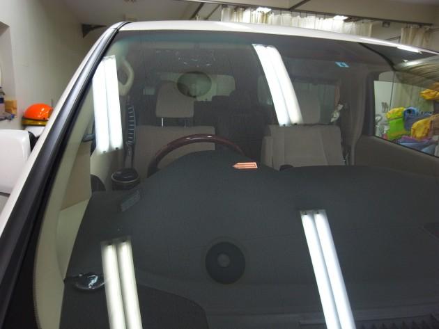 トヨタ フロントガラス補修