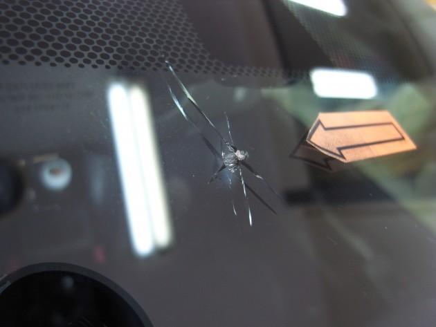 自働車 ガラス修理