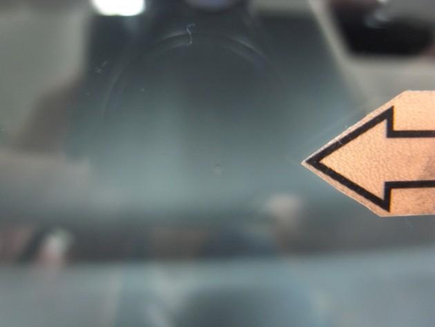 自動車 フロントガラスリペア