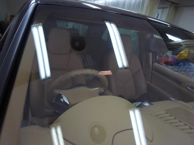 輸入車 フロントガラス補修