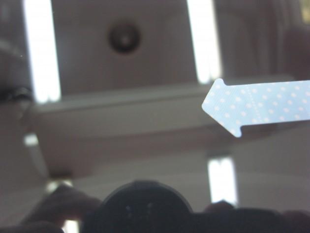 フロントガラス傷 リペア