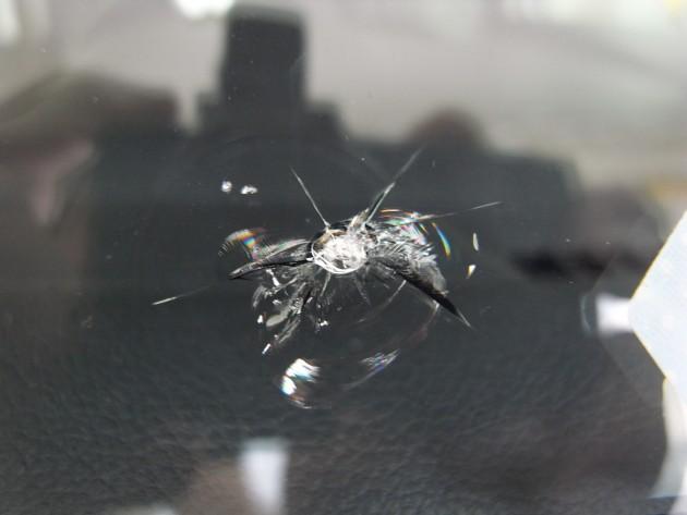 車 フロントガラス傷 修理