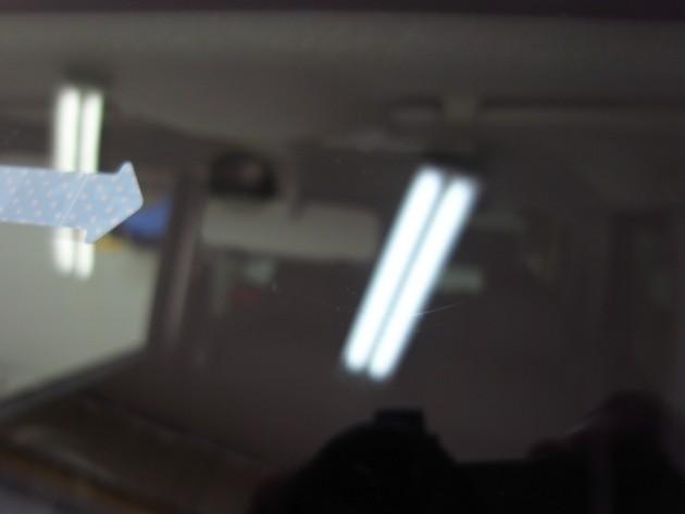 車 フロントガラス 飛び石 リペア