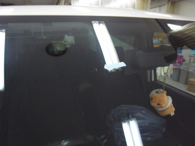 車 ガラス傷 補修