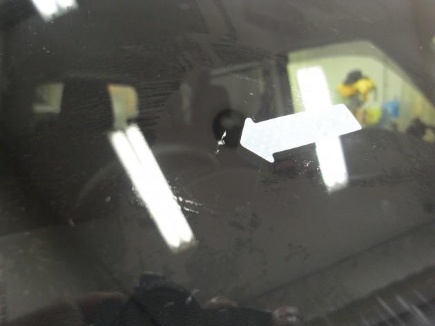 自動車ガラス 飛び石 ウインドリペア