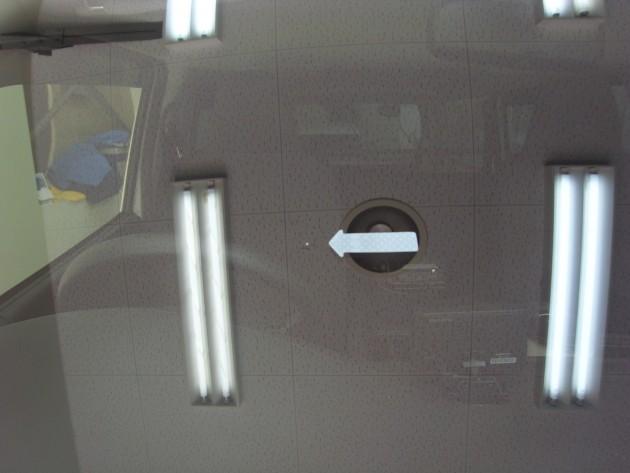 自動車ガラス 修復