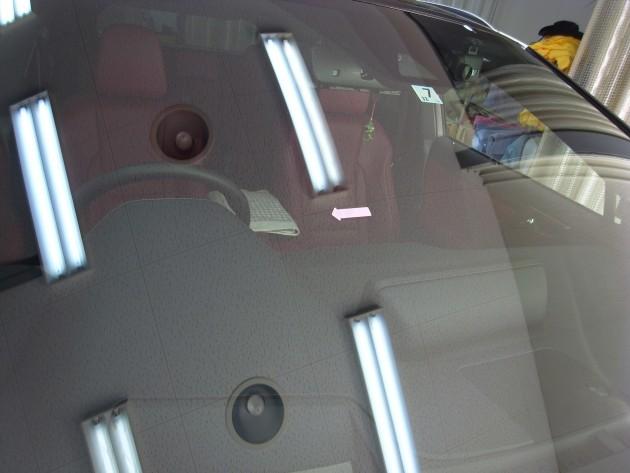 車 ガラス ヒビ リペア