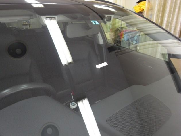 車 フロントガラス 修理
