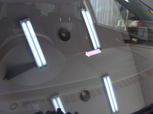 車 ガラスヒビ 補修