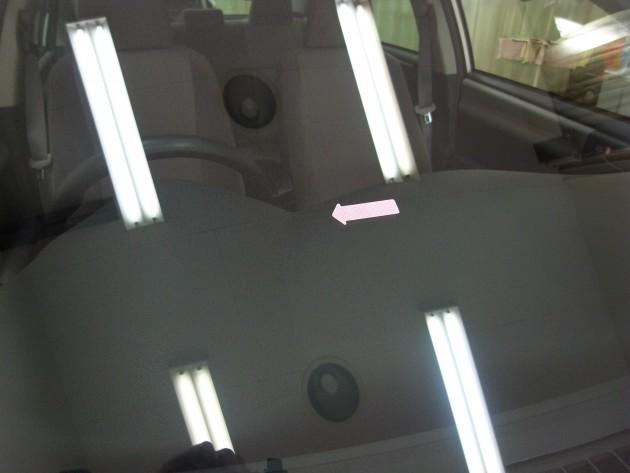 車 ガラス補修