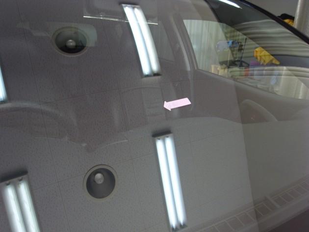 車 ガラス 修理