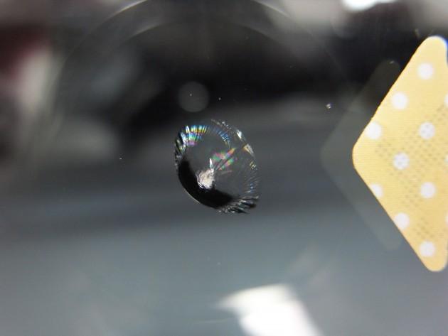 ウインドガラス ヒビ 修理