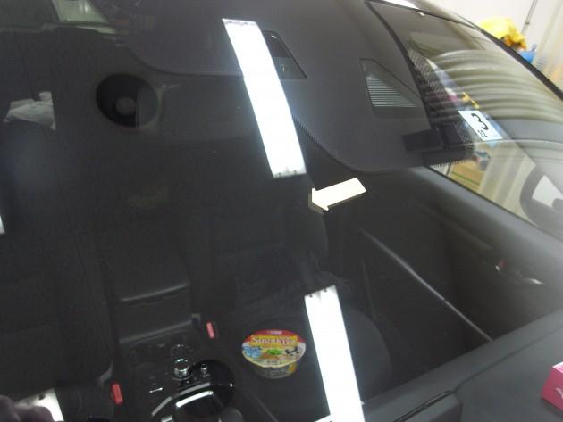 ヒビ フロントガラス修理
