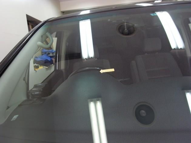 自動車ガラス ヒビ 修理