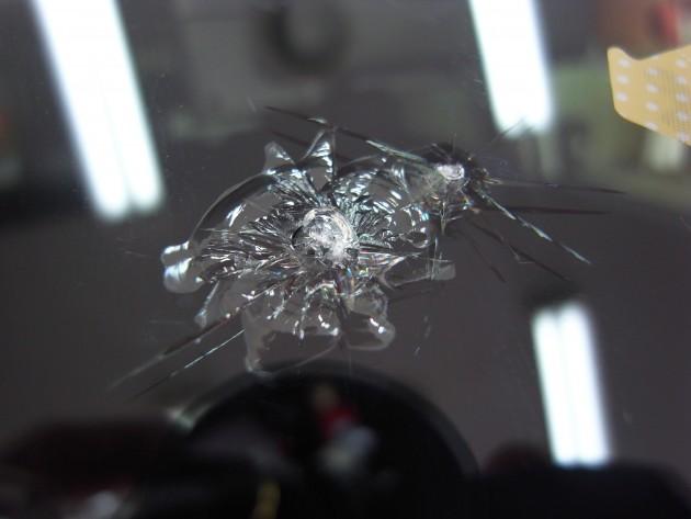 ホンダNone フロントガラス修理