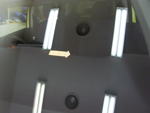 フロントガラス 飛び石 補修