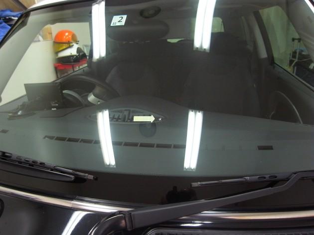 BMWミニ ウインドリペア