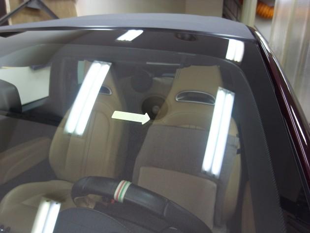 車ガラス 補修