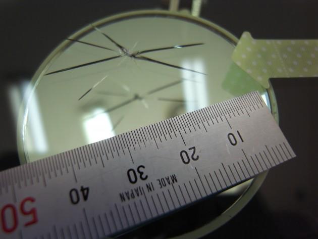 フロントガラス ヒビ割れ 修理