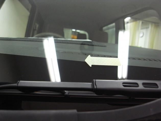 自動車ガラス 傷 補修