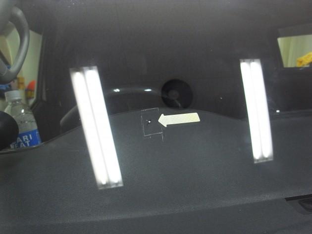 車 フロントガラス 修復