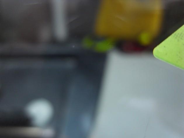 飛び石 フロントガラス リペア