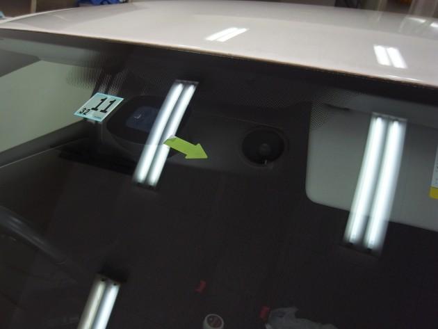自動車ガラス 飛び石 修復