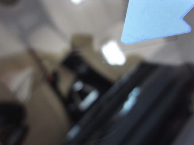 自動車ガラス 飛び石 リペア